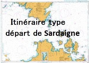 tasto depart Sardaigne